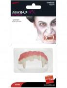 Halloween Vampirzähne rosa-weiss