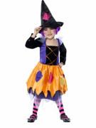 Hexe Halloween-Mädchenkostüm