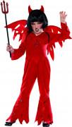 Teufelin Halloweenkostüm für Mädchen