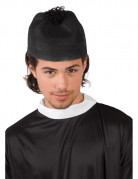 Priester Hut Mütze schwarz