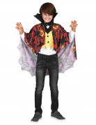 Vampir Halloween-Kinderkostüm rot-gelb-schwarz