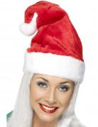 Weihnachtsmann-Mütze Weihnachten rot-weiss