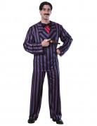 Gomez Herren Kostüm Addams Family lila-schwarz