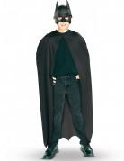 Batman-Umhang und Maske für Jungen Superheld schwarz