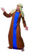 Joseph Kostüm Krippenspiel braun-blau-beige