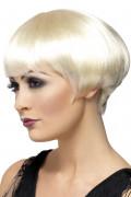 20er Jahre Damen-Perücke blond