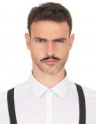 Gangster Bart selbstklebend schwarz