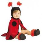 Marienkäfer Baby-Kostüm schwarz-rot