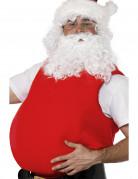 Weihnachtsmann Fatsuit Kostümzubehör rot