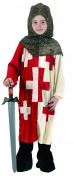 Mittelalterlicher Kreuzritter Kinderkostüm