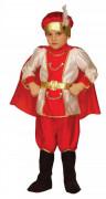 Korsaren Prinz Kinderkostüm rot-weiss-gold
