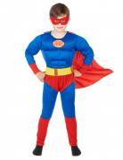 Superhelden-Kostüm für Kinder rot-blau