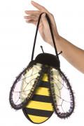 Biene Handtasche schwarz-gelb