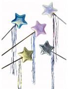 Feen-Zauberstab mit Stern bunt