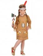 Indianerin Western Kinderkostüm hellbraun-bunt