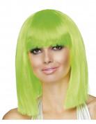 Fasching Perücke grün