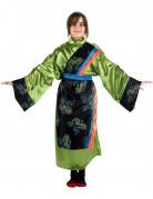 Japanerin Kinderkostüm grün