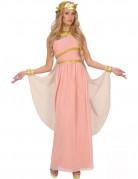 Aphrodite Göttin Damen-Kostüm Antike rosa-weiss-gold