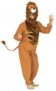 Löwe Raubkatze Karnevalkostüm braun