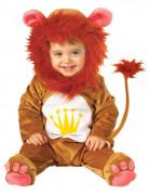 Löwe Babykostüm Plüsch braun