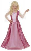 Prinzessin Kinderkostüm rosa-pink