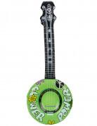 Aufblasbares Banjo Kostüm-Zubehör bunt 100cm