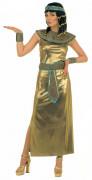 Königin von Ägypten - Kleopatra-Kostüm für Damen - golden