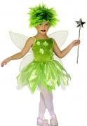 Wald Elfe Kinderkostüm Fee grün