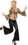 Disco Schlaghose Kostüm-Zubehör schwarz