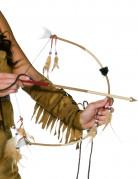 Indianer Pfeil und Bogen beige