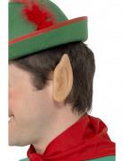 Wichtel-Ohren Elfenohren Kostüm-Accessoire hautfarben