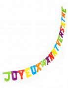 Schrift-Girlande Party-Deko bunt 3m