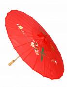 Chinesischer Sonnenschirm rot 54x84cm
