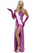 Schönheitskönig Kostüm pink