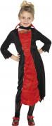 Kleine Vampirin Kinder-Kostüm schwarz