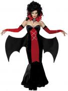 Gothic Manor Schlossherrin Vampirin Damen-Kostüm schwarz-rot