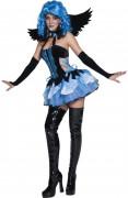 Tainted Garden Bezaubernder Engel Damen-Kostüm schwarz-blau