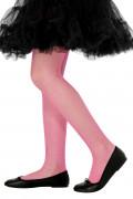 Kinder Netzstrumpfhose pink