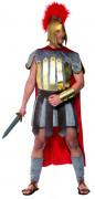 Römer Krieger Kostüm rot-silber-gold