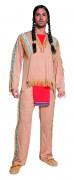 Indianer Häuptling Kostüm braun