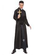 Priester Kostüm Pfarrer schwarz-weiss