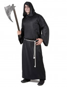 Sensenmann Halloweenkostüm für Herren schwarz