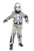 Zombie-Skelett Halloween-Kinderkostüm