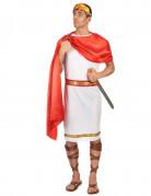 Römischer Kaiser Kostüm Caesar weiss-rot-gold