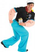 Popeye™-Kostüm für Herren Kpmplettkostüm Fasching blau-schwarz