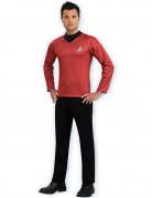 Star Trek™-Kostüm für Herren Fasching rot-schwarz
