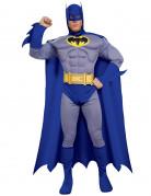 Batman™-Herrenkostüm Lizenzkostüm blau-gelb