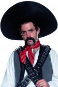 Sombrero Mexikaner Kostüm-Zubehör schwarz