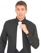 Elegante Krawatte Kostüm-Zubehör weiss