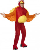 Truthahn Kostüm rot